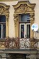 Balcony of Karbaš's Butchery in Třebíč, Třebíč District.jpg