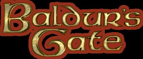 Baldurs Gate stacked logo circa Enhanced Edition