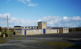 Bangor Grammar School - Former School Playing Fields at Ballymacormack, near Groomsport.