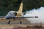 Baltic Bees Aero L-39 (YL-KSM) at Kleine Brogel Air Base (2).jpg