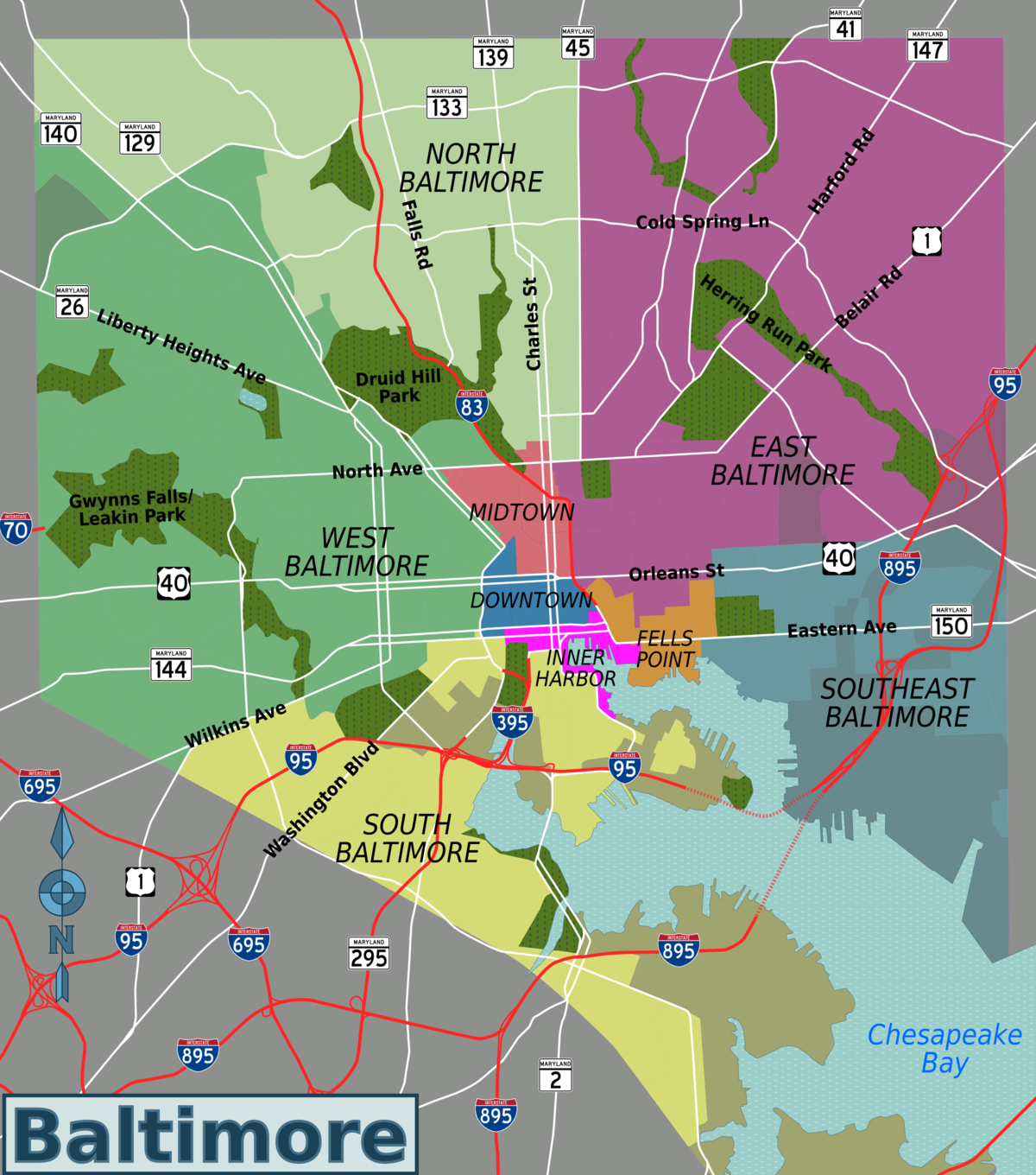Progress On The DC Baltimore Map The Greater Marin New Tip For - Washington dc baltimore map
