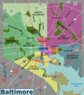 Baltimore  Travel Guide At Wikivoyage