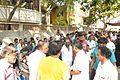 Balu Mahendra funeral.JPG