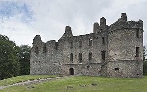 Balvenie Castle - Exterior view