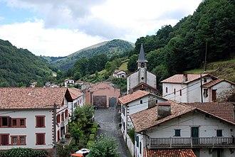 Banca, Pyrénées-Atlantiques - A general view of Banca