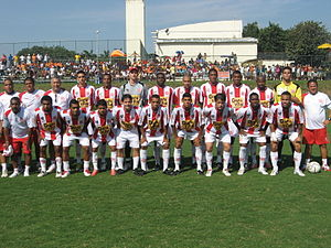 Bangu Atlético Clube - Team photo from the 2010 season