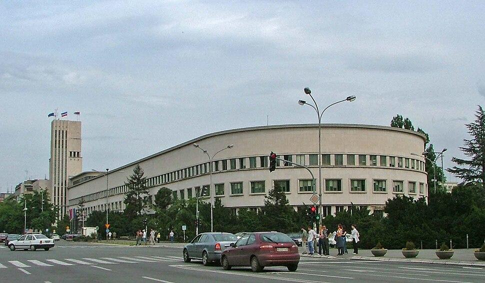 Banovina Palace, Novi Sad, Vojvodina, Serbia - 20050516