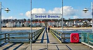 Heringsdorf - Image: Bansin Usedom Seebruecke pier