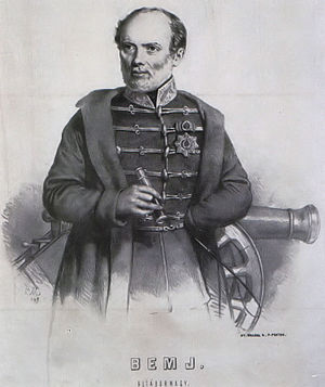 Battle of Temesvár - József Bem, Hungarian supreme commander in the Battle of Temesvár