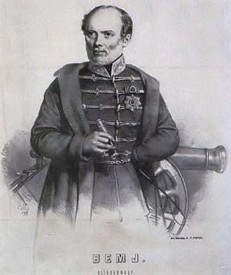 Battle of Temesvár - József Bem, Hungarian supreme commander in the Battle of Temesvár