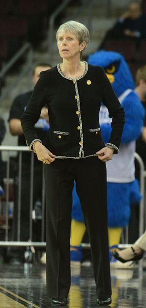 Barbara Stevens (basketball) - Image: Barbara Stevens cropped