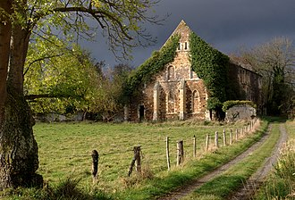 Barbery, Calvados - The old Cistercian Abbey of Notre-Dame