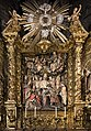 Barcelona Cathedral Interior - Chapel of Our Lady of Mercy -Altarpiece of the Foundation of the Order of Mercy by Joan Roig 1688.jpg