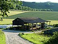 Barn at Little Heaven - geograph.org.uk - 2478839.jpg