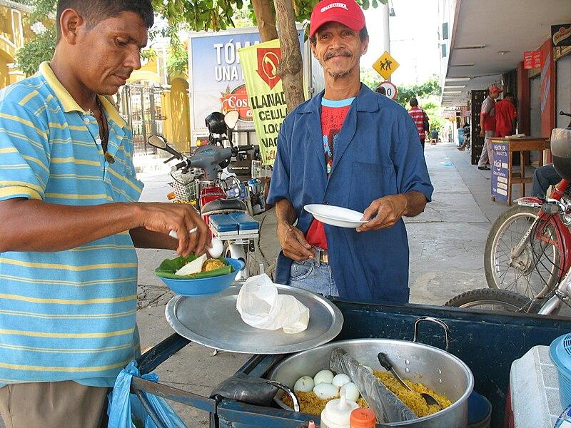 File:Barranquilla venta arroz de lisa.jpg