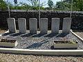 Barville (Eure, Fr) tombes de guerre de la CWGC.JPG