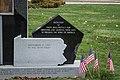 Base detail 02 - September 11 Memorial - Lake View Cemetery - 2014-11-26 (17355010778).jpg