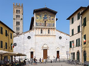 Peter Martyr Vermigli - Basilica of San Frediano, where Vermigli was appointed prior in 1541