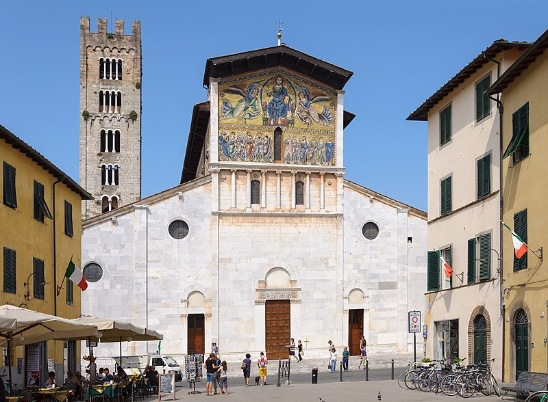 San Frediano Church in Lucca