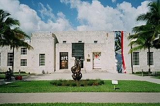 Bass Museum - The Bass Museum of Art front façade, January 2015