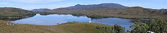 Tasmanian Wilderness World Heritage Area - Part of Bathurst Harbour, South West Tasmania