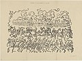 Battle of the Golden Spurs, print by James Ensor, 1897, Prints Department, Royal Library of Belgium, S. II 131189.jpg