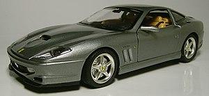Bburago - Bburago 1:18 scale Ferrari 550 Maranello.
