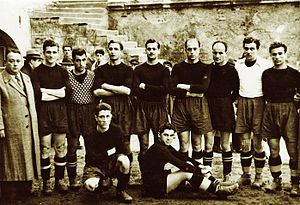 1940–41 Istanbul Football League - Champion Beşiktaş J.K. squad after the 1940–41 Istanbul Football League season.
