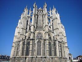 Kathedraal van Beauvais vanuit het oosten