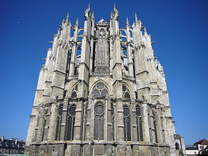 2002 World Monuments Watch - St. Pierre de Beauvais Cathedral is one of the two sites from the Oise locality in France that were included on the 2002 Watch List.