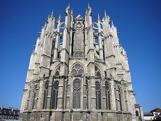 Beauvais Cathedral - Image: Beauvais 1