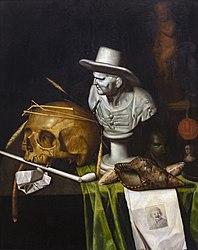Johann de Cordua: Vanité au buste