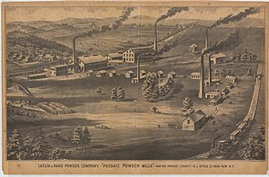 Laflin & Rand Powder Company - Image: Beers Ulster County Atlas Page 016 017
