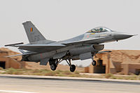 Belgian F-16 at 2007 Falcon Air Meet in Azraq.jpg
