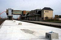 Belleville train station under construction October 2011 (1).jpg