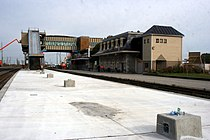 Belleville train station under construction October 2011 (1).jpg