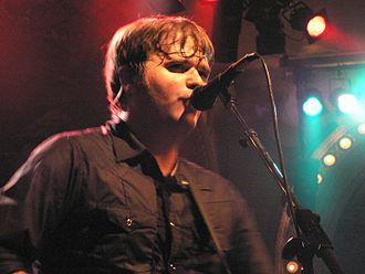 Death Cab for Cutie - Ben Gibbard performs at the Street Scene music festival in San Diego (2005).