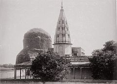 Benares, Temple and Top of Sarnath LACMA M.90.24.67.jpg