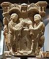 Benedetto antelami, capitello con storie della genesi 02, dal duomo di parma, 1178, sacrificio di caino e abele.jpg