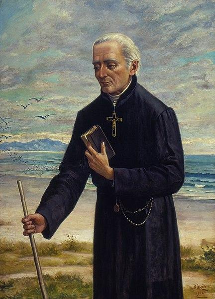 Retrato do Padre José de Anchieta,  o santo que ajudou a fundar o Brasil
