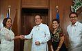 Benigno S. Aquino III greets Corazon Malanyaon.jpg