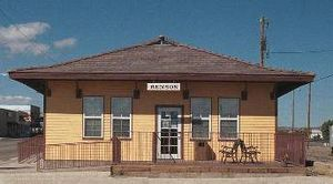 Benson, Arizona - Replica of Benson Railroad Station