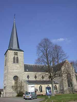 Berg, Valkenburg - The St. Monulphus Church in Berg.