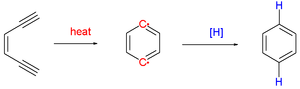 Bergman cyclization - Scheme 1. Bergman cyclization