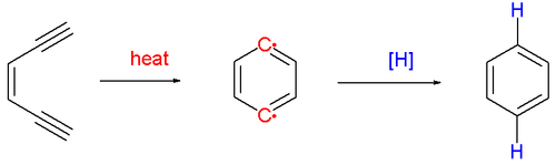 Scheme 1. Bergman cyclization