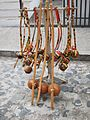 Berimbau being sold on the street in Salvador, state of Bahia, Brazil.jpg