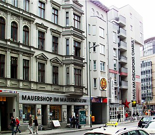 Checkpoint Charlie Museum private museum in Berlin, Germany