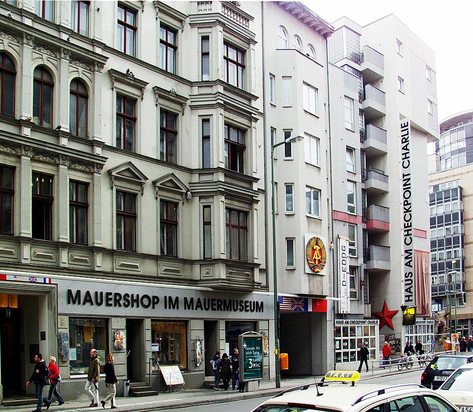 Berlin-Mauermuseum am Checkpoint Charlie