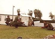 Bermuda Regiment - Training Company PSI and Senior NCOs - Warwick Camp 1992