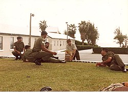 Bermuda Regiment - Training Company PSI and Senior NCOs - Warwick Camp 1992